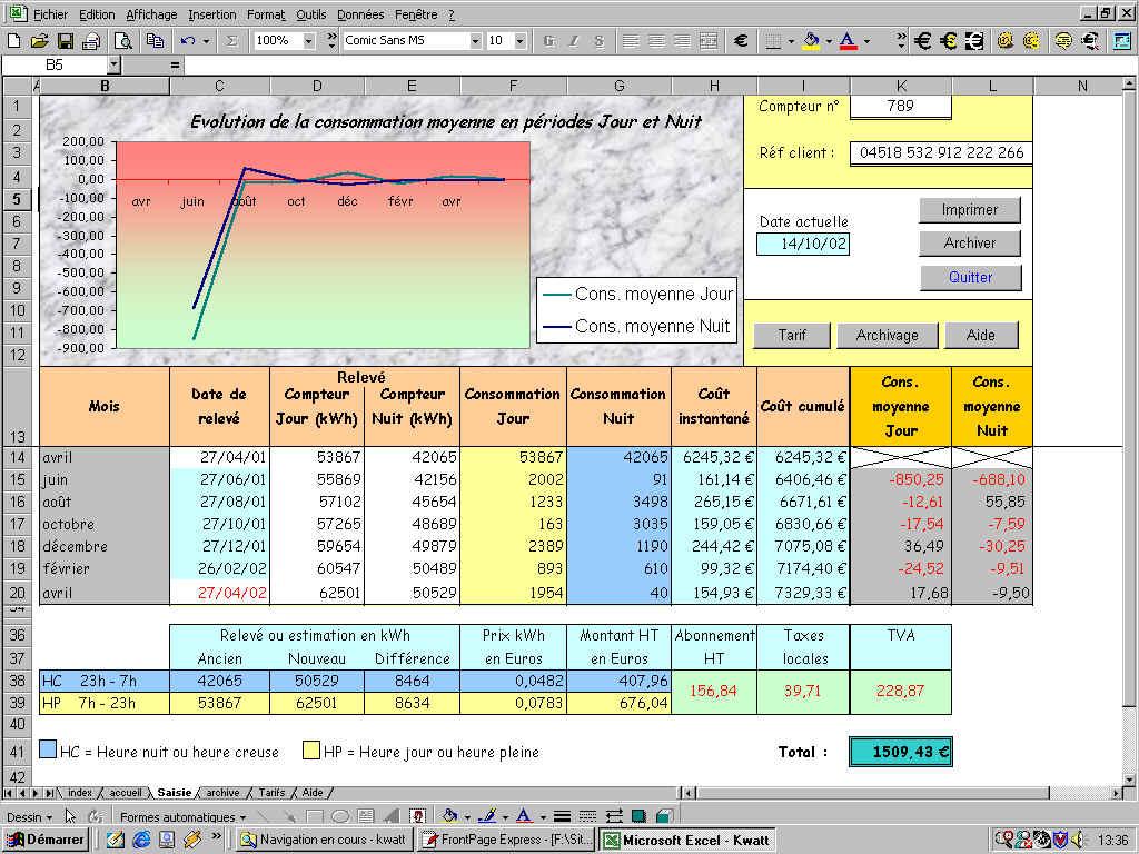 Super Applications pour Excel TG83